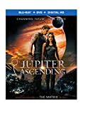 Jupiter Ascending (Blu-ray + DVD + Digital HD UltraViolet Combo Pack)