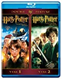 Harry Potter Double Feature: Harry Potter and the Sorcerers Stone / Harry Potter and the Chamber of Secrets [Blu-ray]